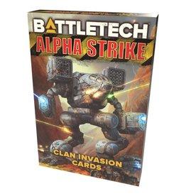Catalyst Game Labs Battletech: Alpha Strike: Clan Invasion Cards