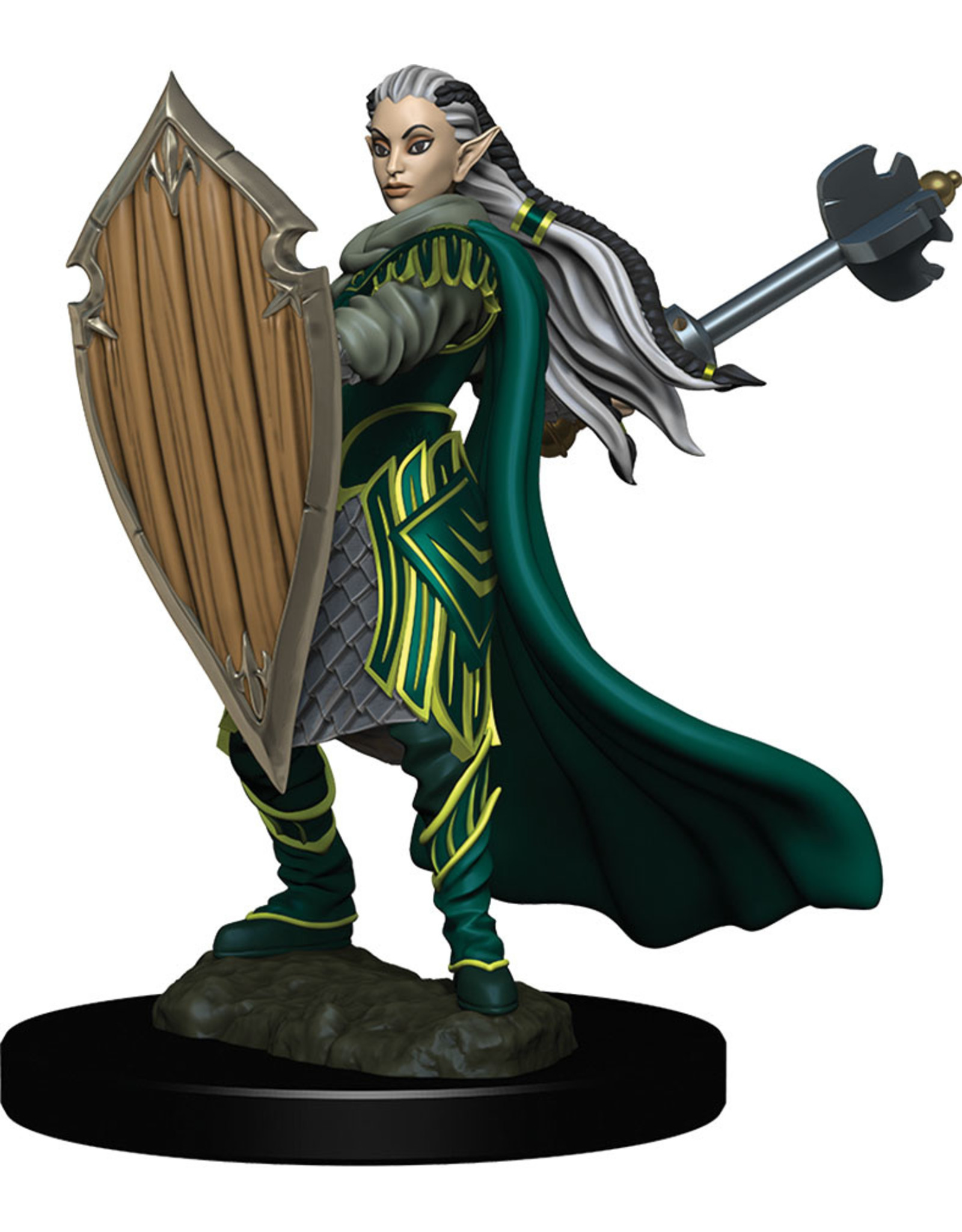 WizKids Dungeons & Dragons Fantasy Miniatures: Icons of the Realms Premium Figures W4 Elf Paladin Female