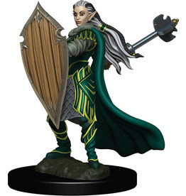 WizKids Dungeons & Dragons Fantasy Miniatures: Icons of the Realms Premium Figures W4 Elf Paladin Female