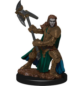 WizKids Dungeons & Dragons Fantasy Miniatures: Icons of the Realms Premium Figures W4 Half-Orc Fighter Female