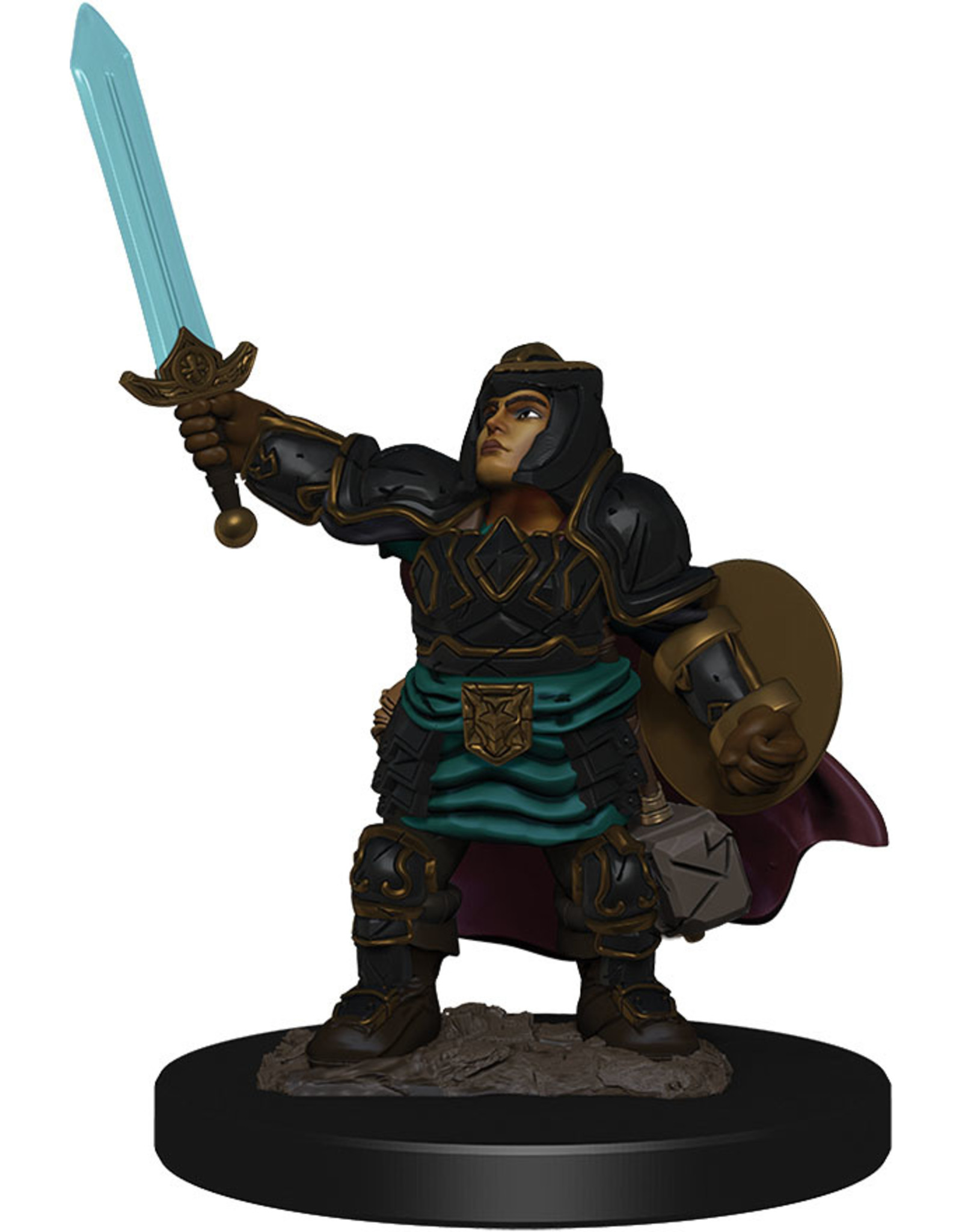 WizKids Dungeons & Dragons Fantasy Miniatures: Icons of the Realms Premium Figures W4 Dwarf Paladin Female