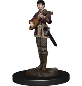 WizKids Dungeons & Dragons Fantasy Miniatures: Icons of the Realms Premium Figures W4 Half-Elf Bard Female
