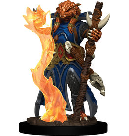WizKids Dungeons & Dragons Fantasy Miniatures: Icons of the Realms Premium Figures W4 Dragonborn Sorcerer Female