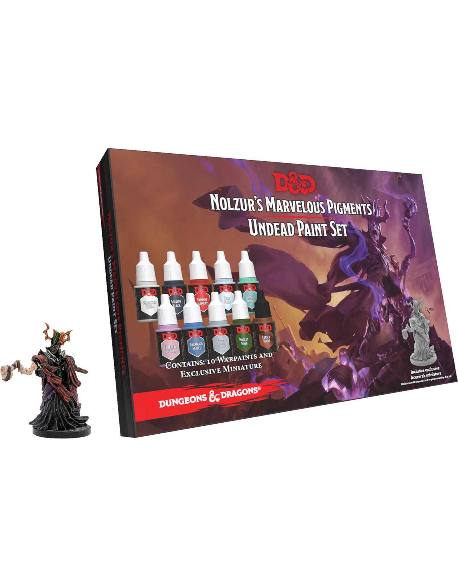 TAP Dungeons & Dragons Nolzur`s Marvelous Pigments: Undead Paint Set