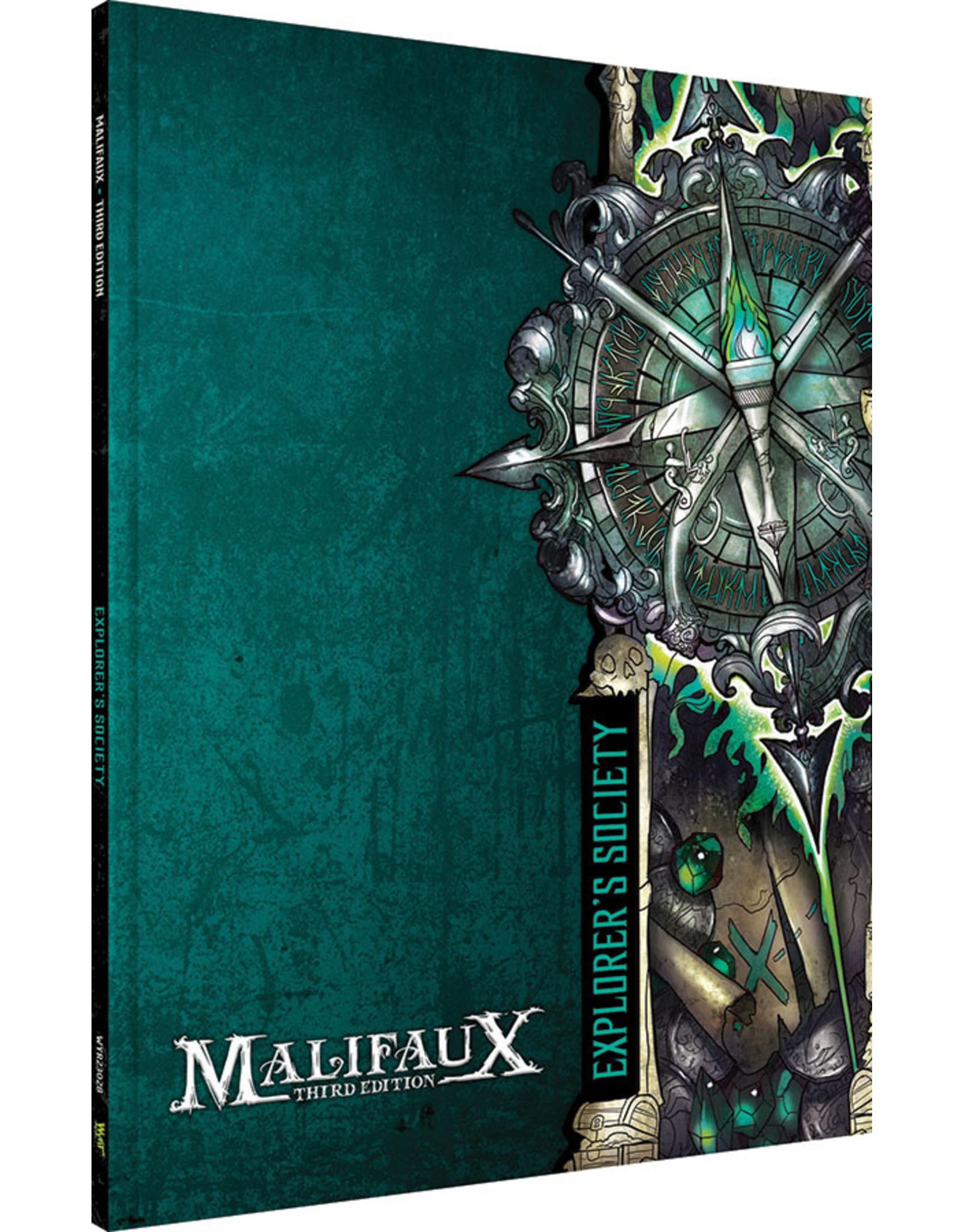Wyrd Miniatures Malifaux 3E: Explorers Society Faction Book