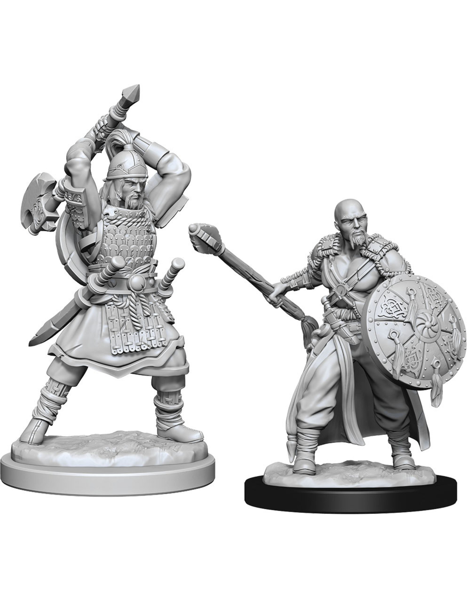 WizKids Dungeons & Dragons Nolzur`s Marvelous Unpainted Miniatures: W13 Human Barbarian Male