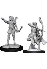 WizKids Dungeons & Dragons Nolzur`s Marvelous Unpainted Miniatures: W13 Elf Ranger Female