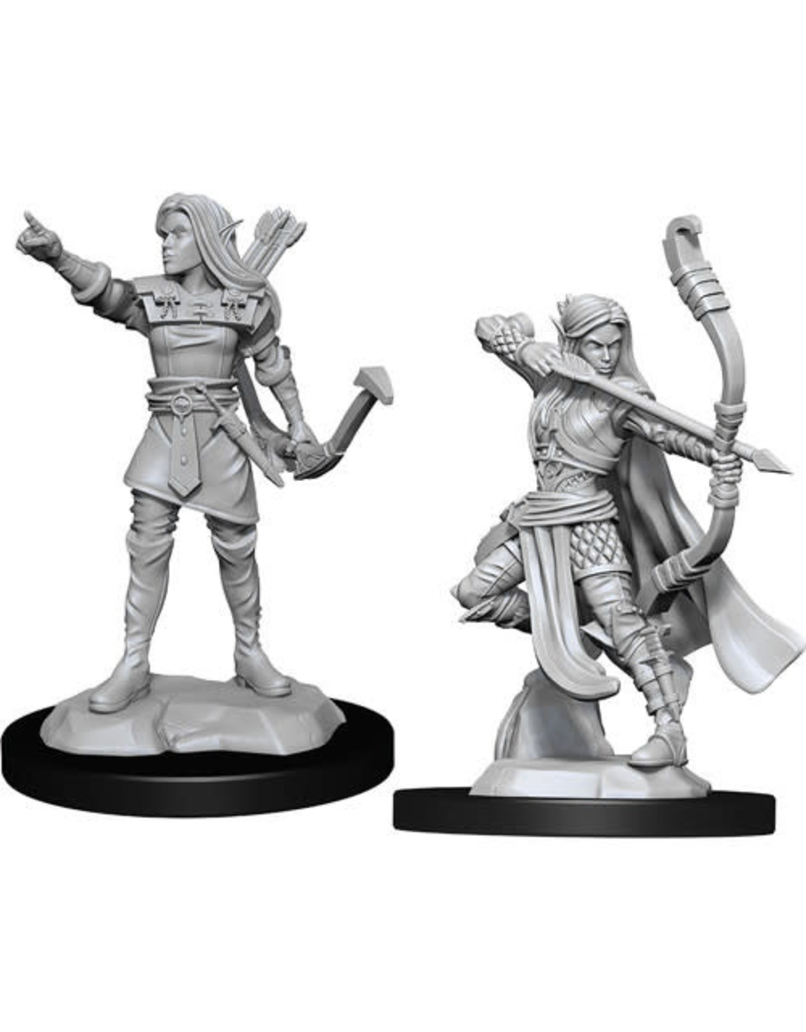 WizKids Dungeons & Dragons Nolzur`s Marvelous Unpainted Miniatures: W13 Elf Ranger Female