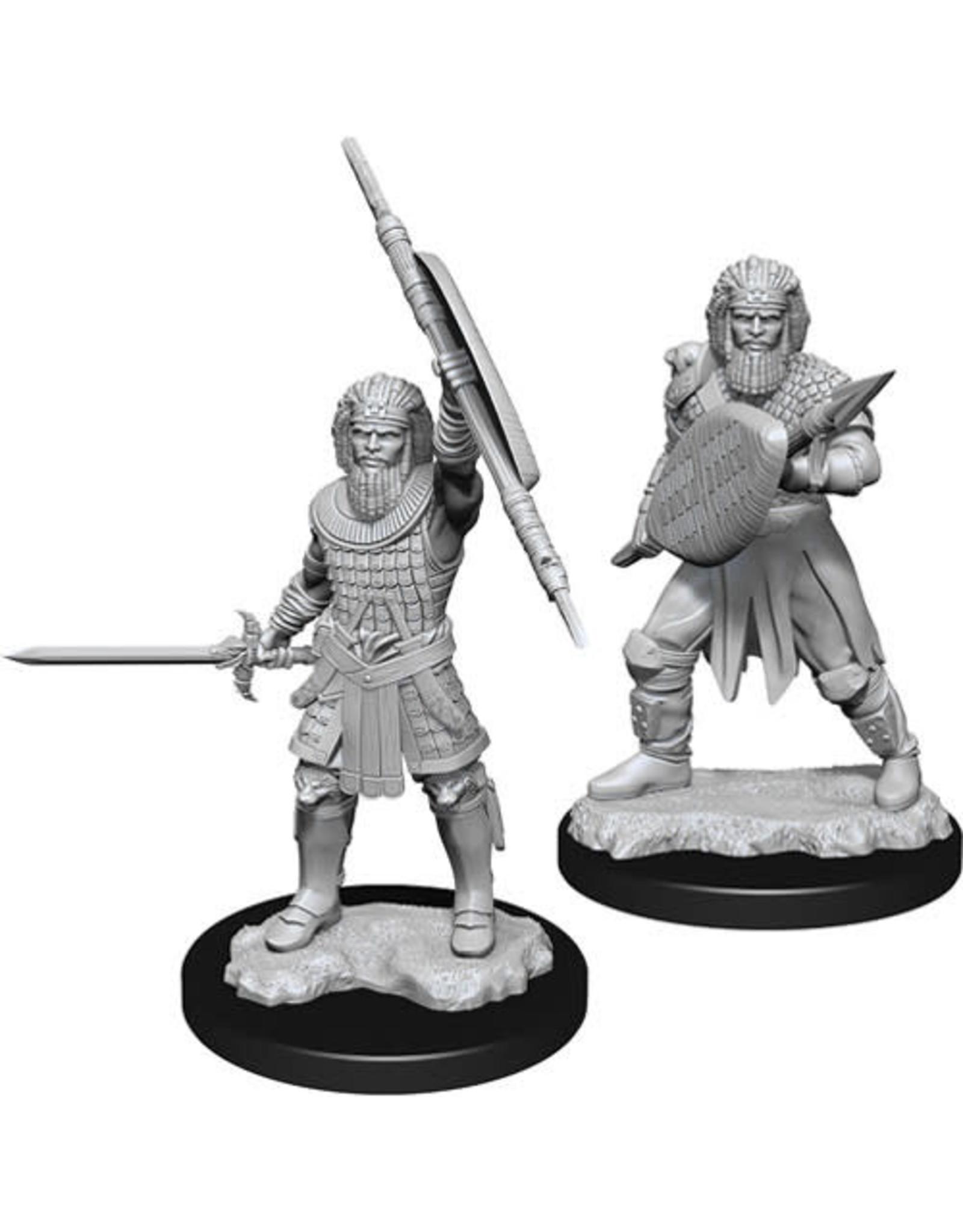 WizKids Dungeons & Dragons Nolzur`s Marvelous Unpainted Miniatures: W13 Human Fighter Male
