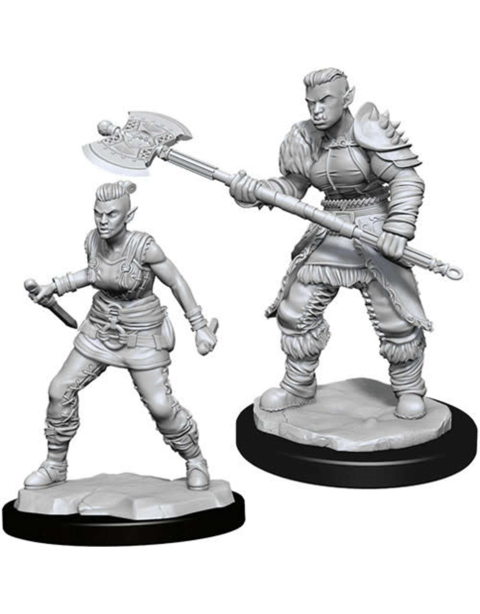 WizKids Dungeons & Dragons Nolzur`s Marvelous Unpainted Miniatures: W13 Orc Barbarian Female