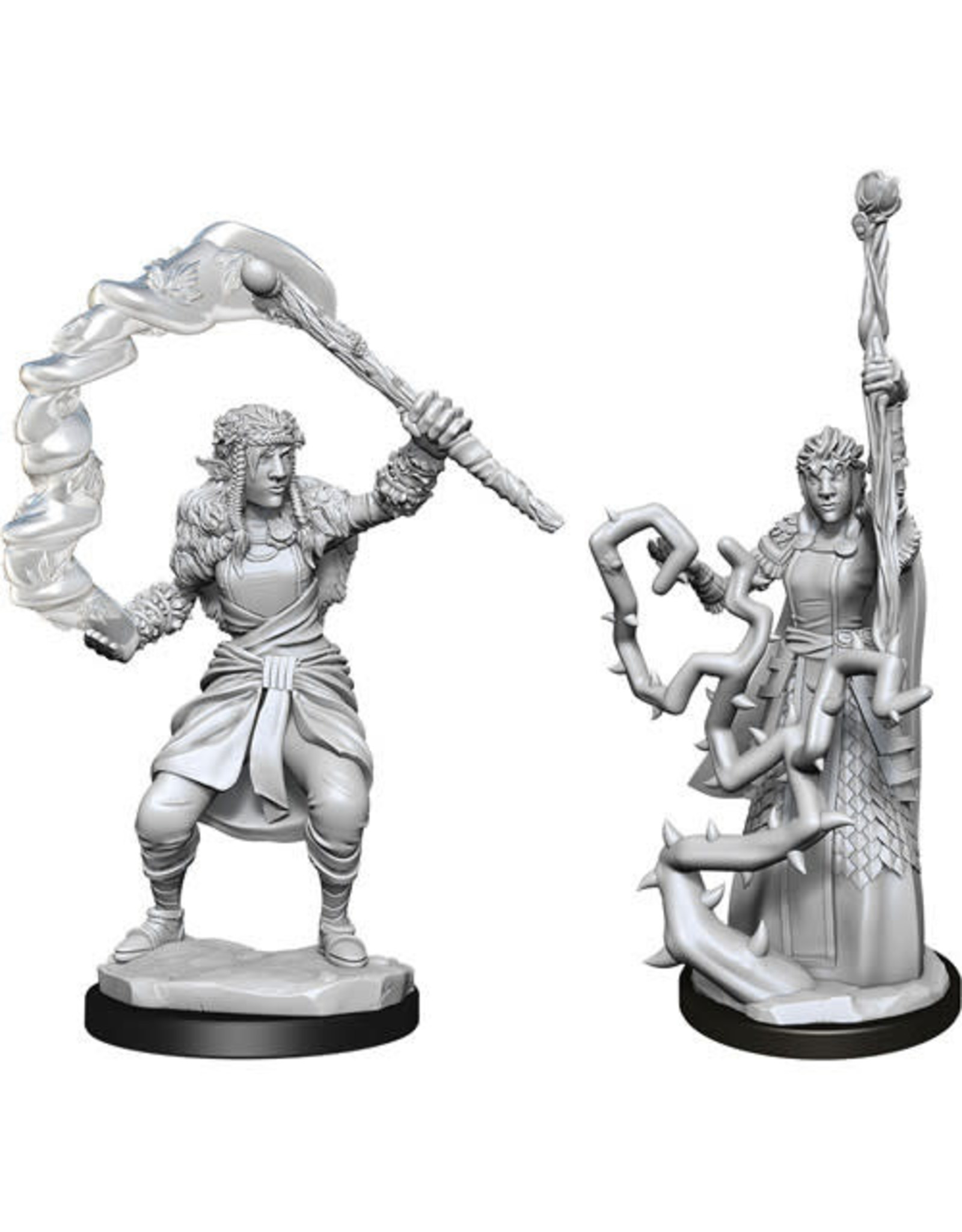 WizKids Dungeons & Dragons Nolzur`s Marvelous Unpainted Miniatures: W13 Firbolg Druid Female