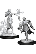 WizKids Dungeons & Dragons Nolzur`s Marvelous Unpainted Miniatures: W13 Multiclass Warlock + Sorcerer Female