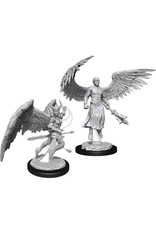 WizKids Dungeons & Dragons Nolzur`s Marvelous Unpainted Miniatures: W13 Deva & Erinyes
