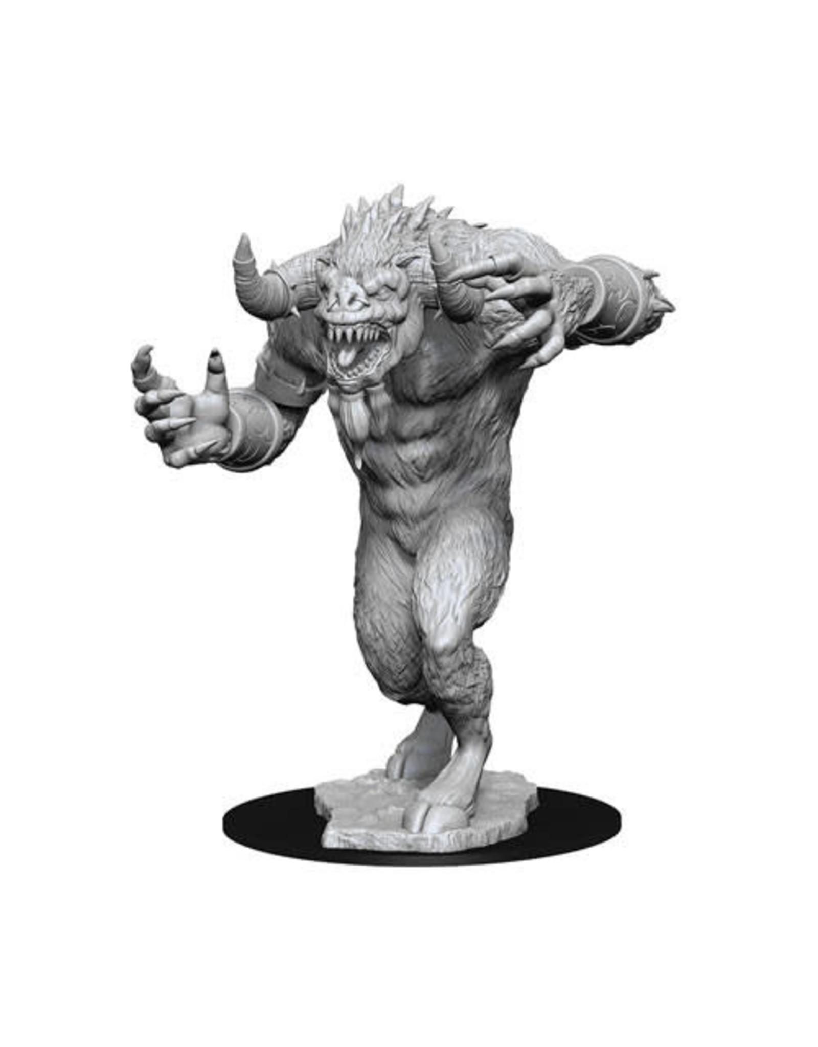 WizKids Dungeons & Dragons Nolzur`s Marvelous Unpainted Miniatures: W13 Goristro