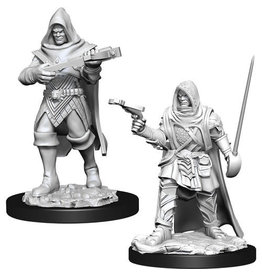WizKids Pathfinder Deep Cuts Unpainted Miniatures: W13 Human Rogue Male