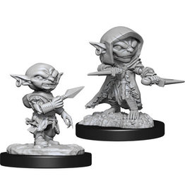 WizKids Pathfinder Deep Cuts Unpainted Miniatures: W13 Goblin Rogue Male