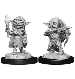 WizKids Pathfinder Deep Cuts Unpainted Miniatures: W13 Goblin Rogue Female