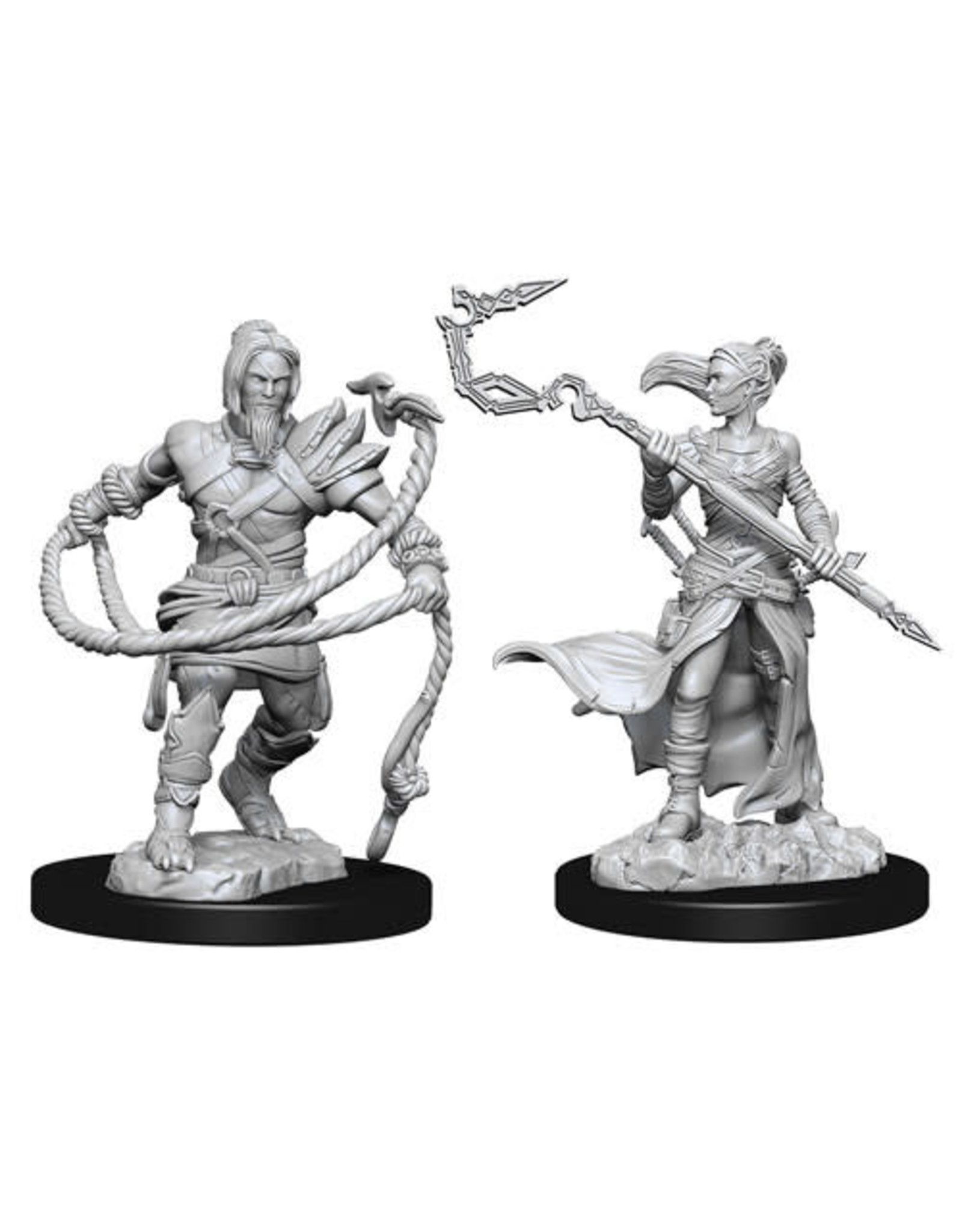 WizKids Magic the Gathering Unpainted Miniatures: W13 Stoneforge Mystic & Kor Hookmaster (Fighter,Rogue,Wizard)