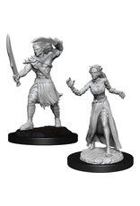 WizKids Magic the Gathering Unpainted Miniatures: W13 Vampire Lacerator & Vampire Hexmage