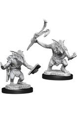 WizKids Magic the Gathering Unpainted Miniatures: W13 Goblin Guide & Goblin Bushwhacker