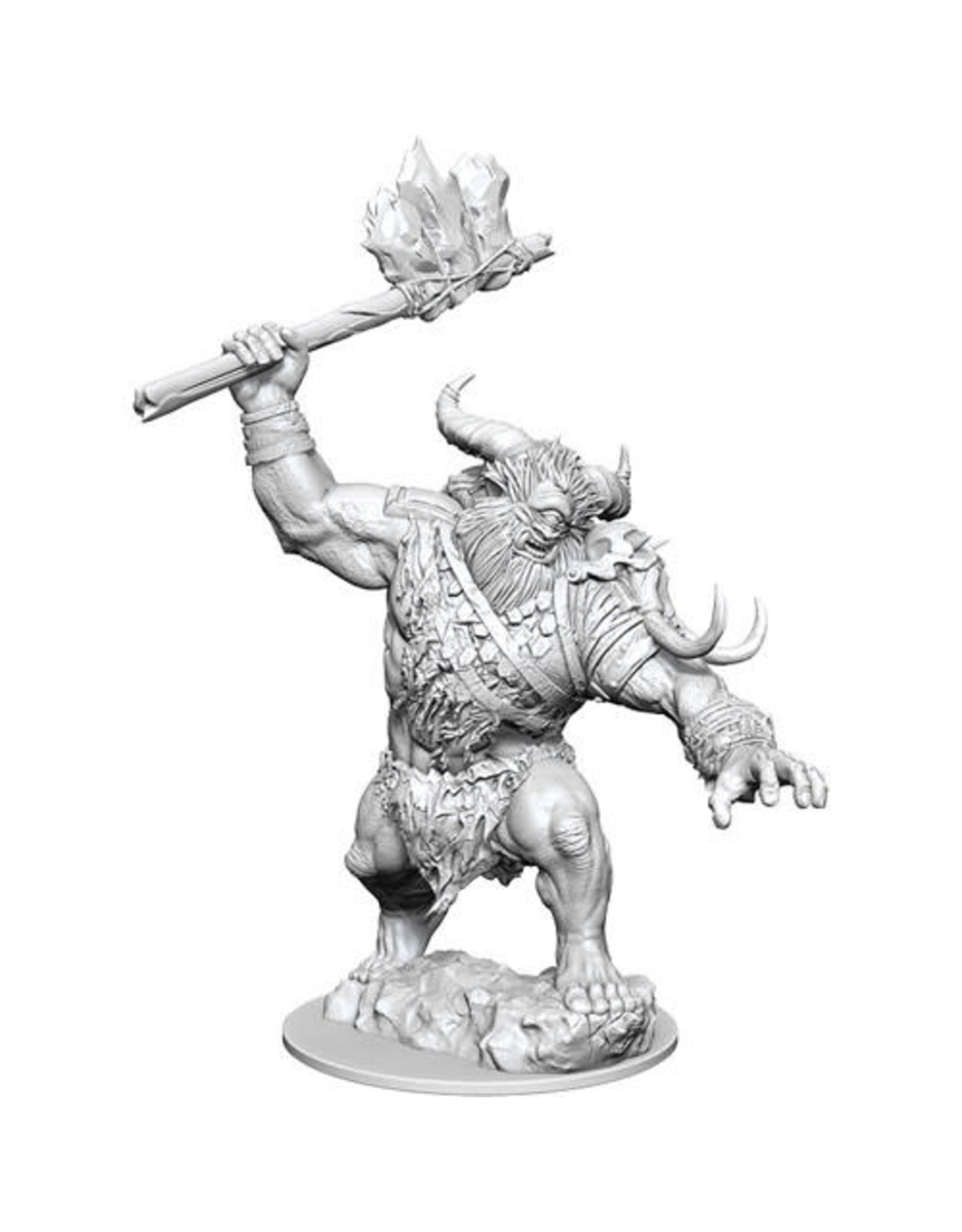 WizKids Magic the Gathering Unpainted Miniatures: W13 Borborygmos (Cyclops)