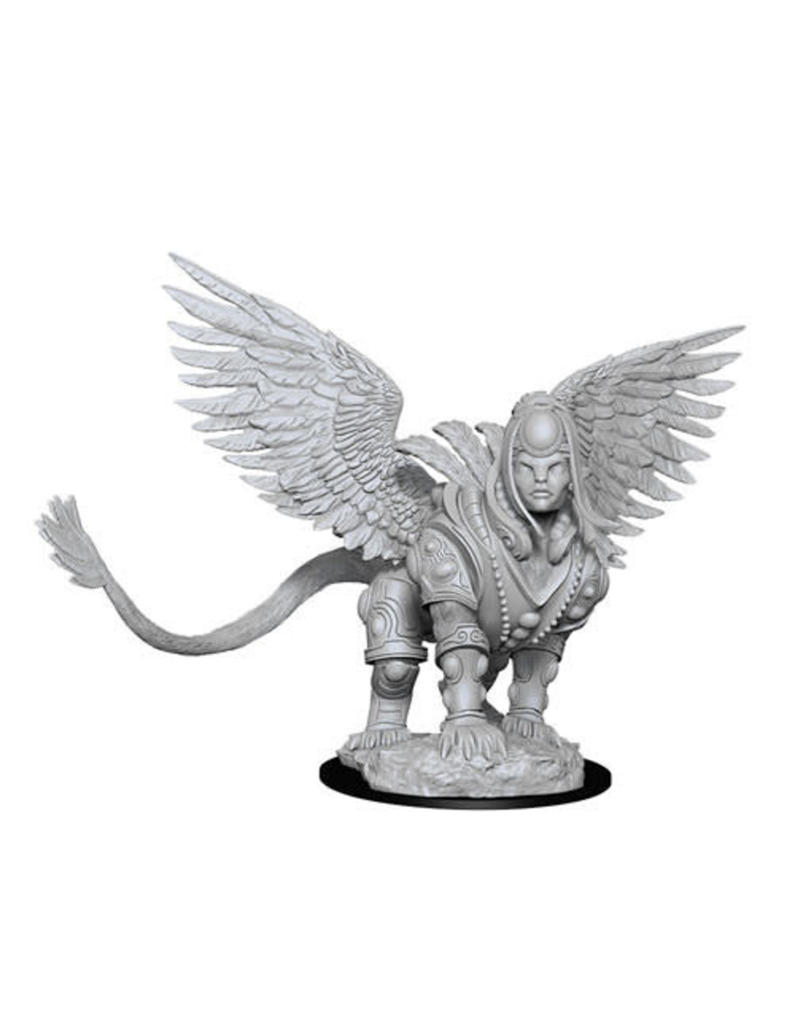 WizKids Magic the Gathering Unpainted Miniatures: W13 Isperia, Law Incarnate (Sphinx)