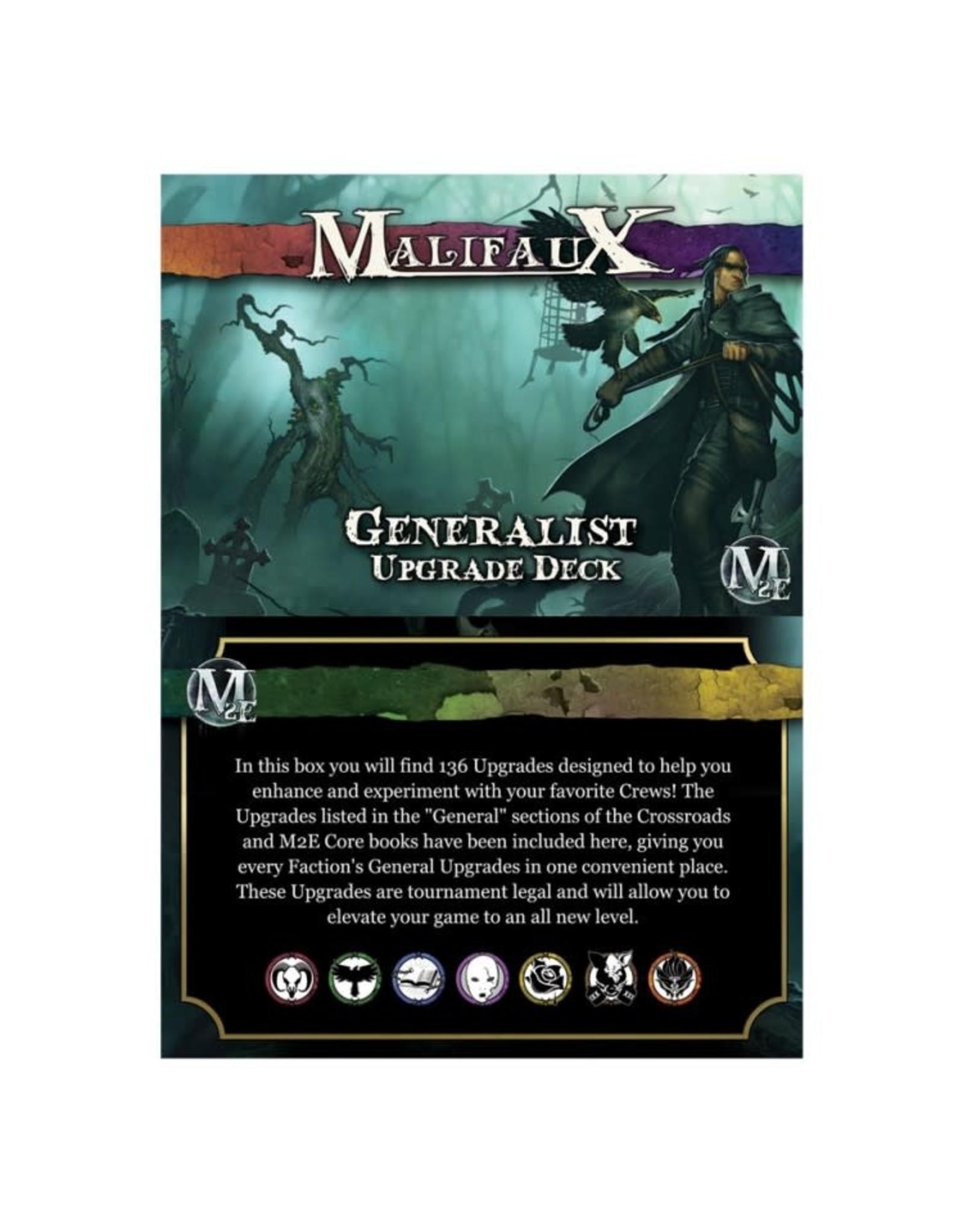 Wyrd Miniatures Malifaux 3E: Generalist Upgrade Deck
