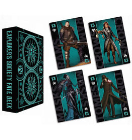 Wyrd Miniatures Explorers Society Fate Deck