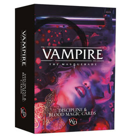 Modiphius Entertainment Vampire: The Masquerade 5E RPG - Discipline & Blood Magic Cards