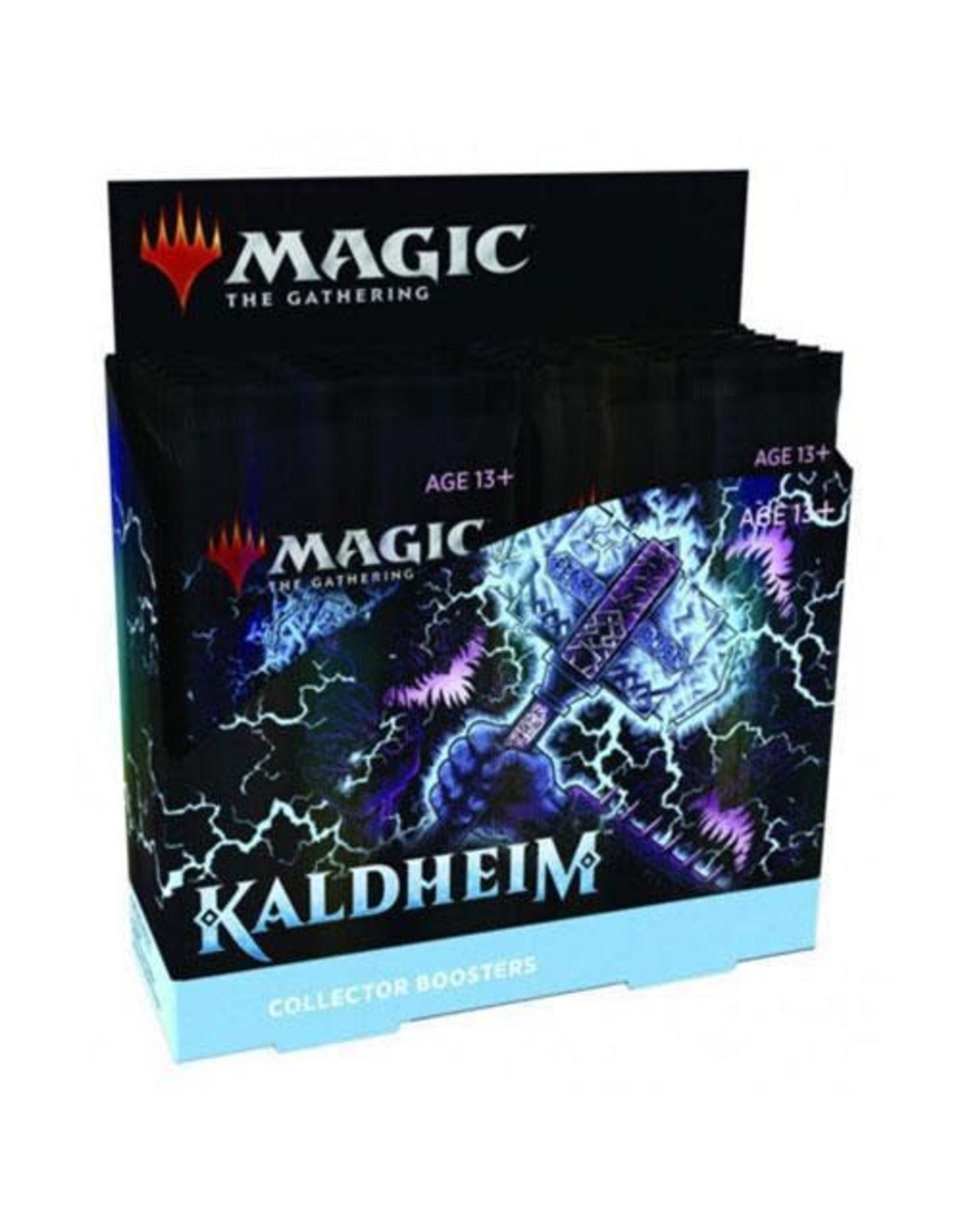 Wizards of the Coast Magic The Gathering: Kaldheim Collector Booster Box