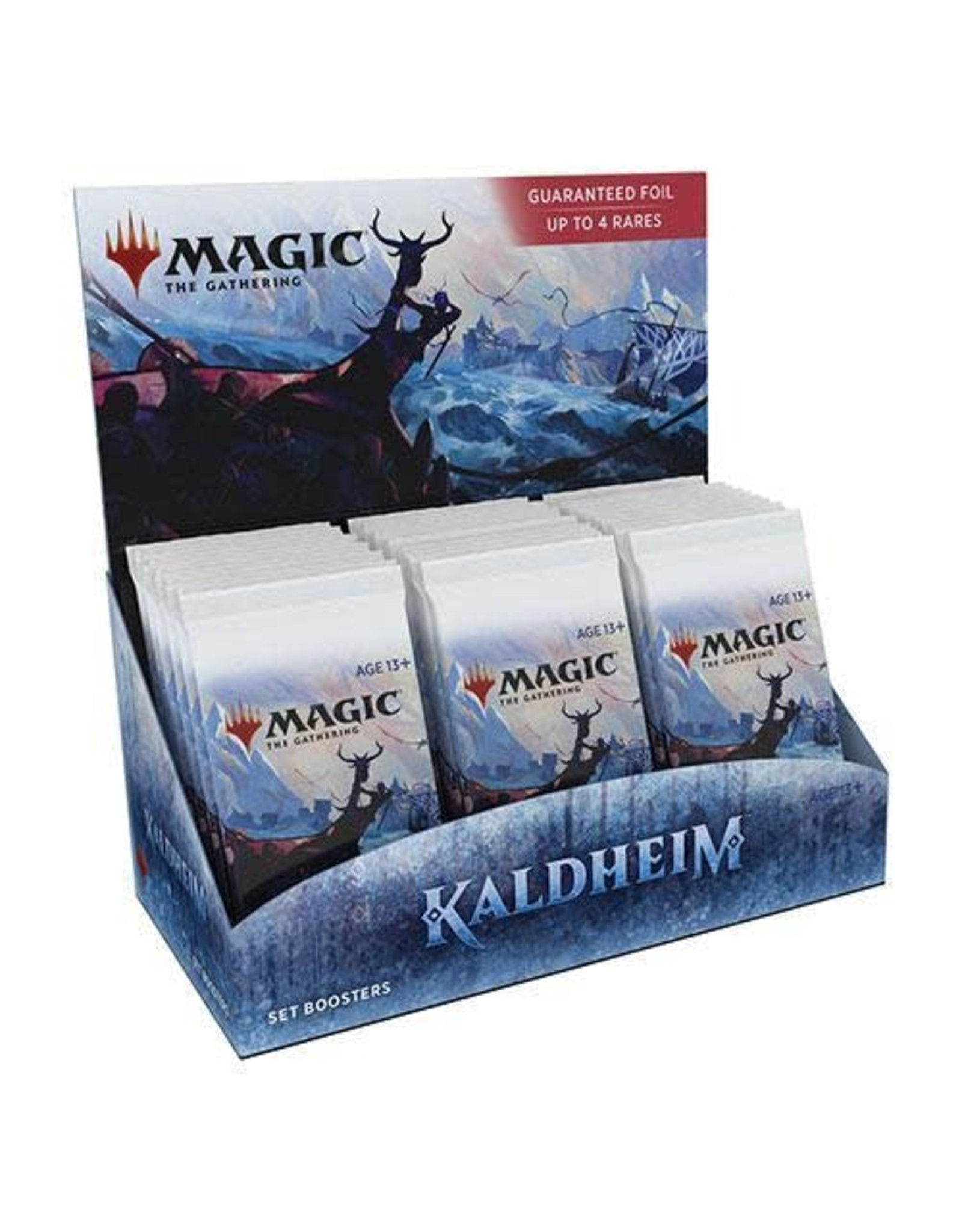 Wizards of the Coast Magic The Gathering: Kaldheim Set Booster Box