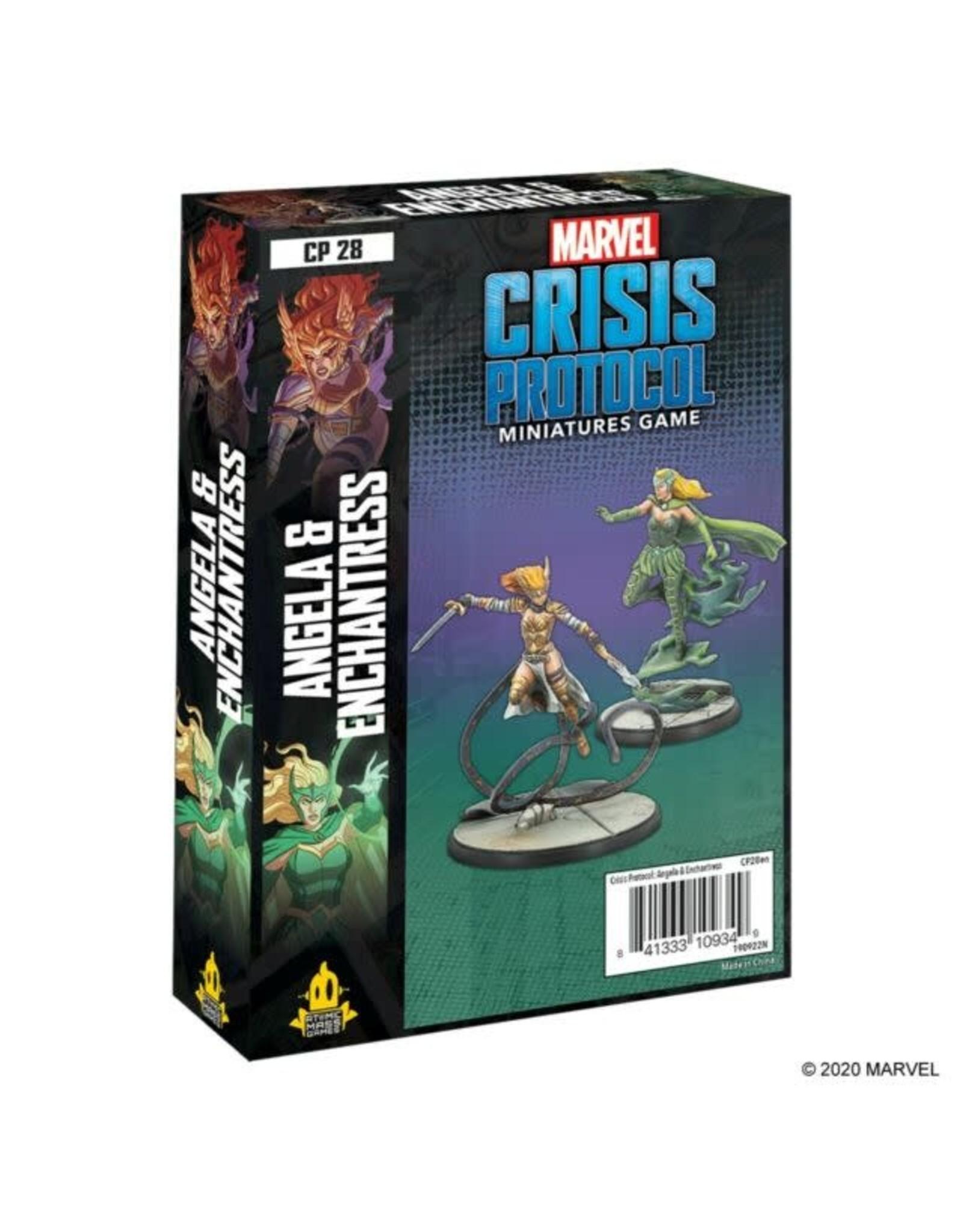 Atomic Mass Games Marvel Crisis Protocol: Angela & Enchantress