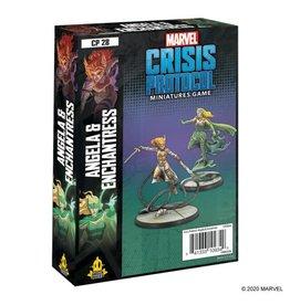 Atomic Mass Games Marvel Crisis Protocol - Angela & Enchantress