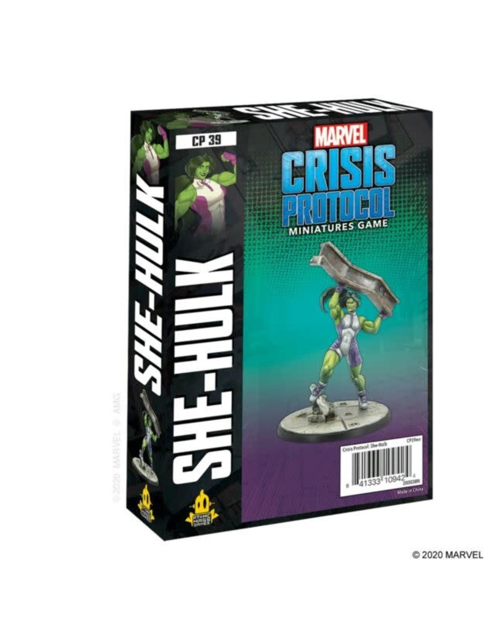 Atomic Mass Games Marvel Crisis Protocol: She Hulk Character Pack