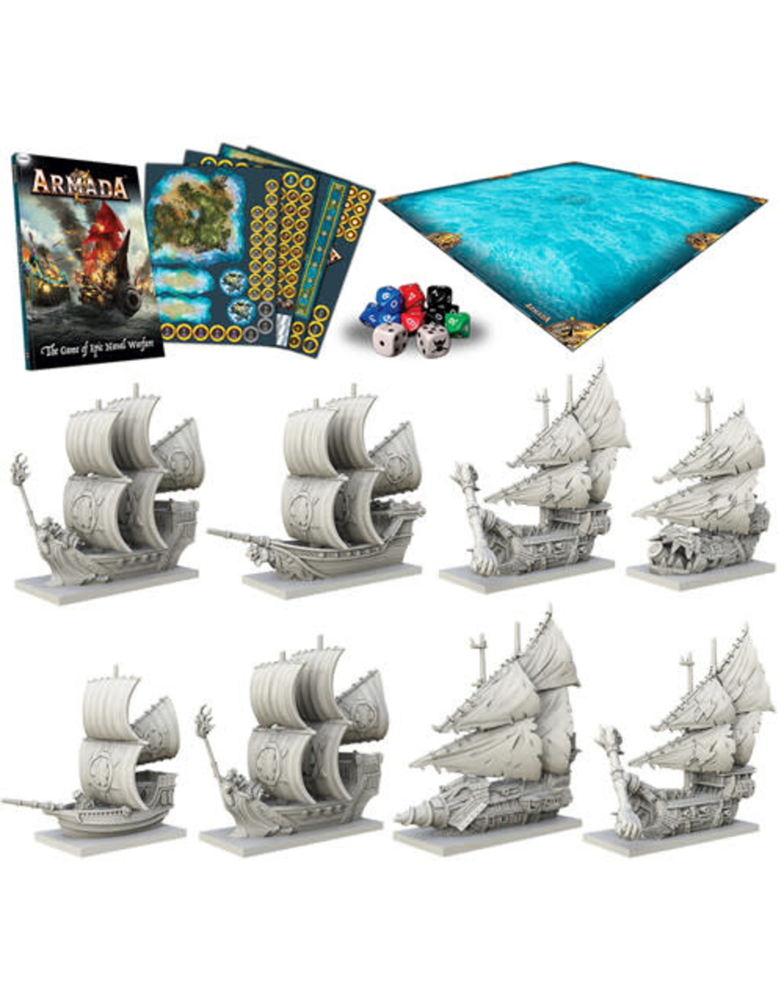Mantic Games Company Armada: Two Player Starter Set