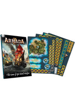 Mantic Games Company Armada: Rulebook & Counters