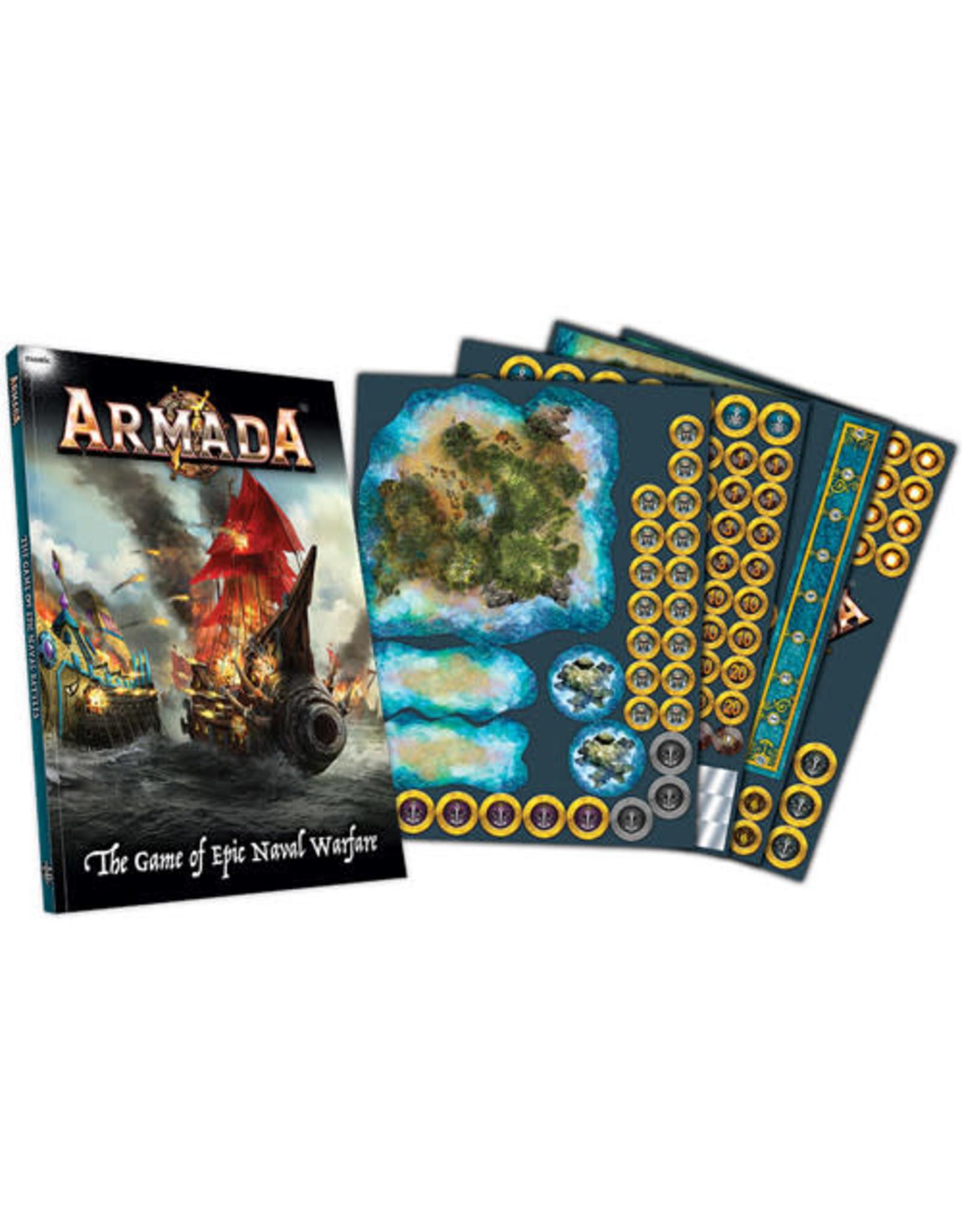 Mantic Games Company Armada: Acrylic Template Set