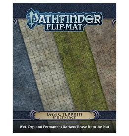 Paizo Publishing Pathfinder RPG: Flip-Mat - Basic Terrain Multi Pack