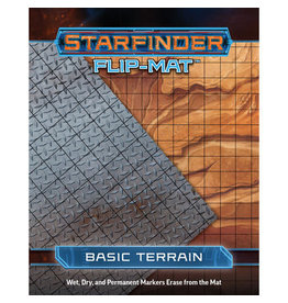 Paizo Publishing Starfinder RPG: Flip-Mat - Basic Terrain