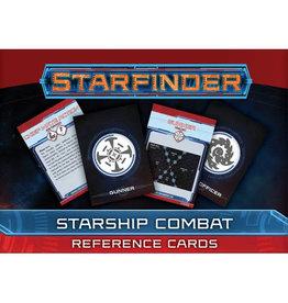 Paizo Publishing Starfinder RPG: Starship Combat Reference Cards