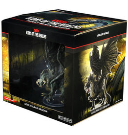 WizKids Dungeons & Dragons Fantasy Miniatures: Adult Black Dragon Premium Figure