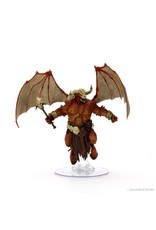 WizKids Dungeons & Dragons Fantasy Miniatures: Icons of the Realms Demon Lord- Orcus, Demon Lord of Undeath Premium Figure