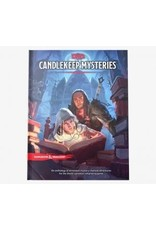 Wizards of the Coast Dungeons and Dragons RPG: Candlekeep Mysteries Hard Cover