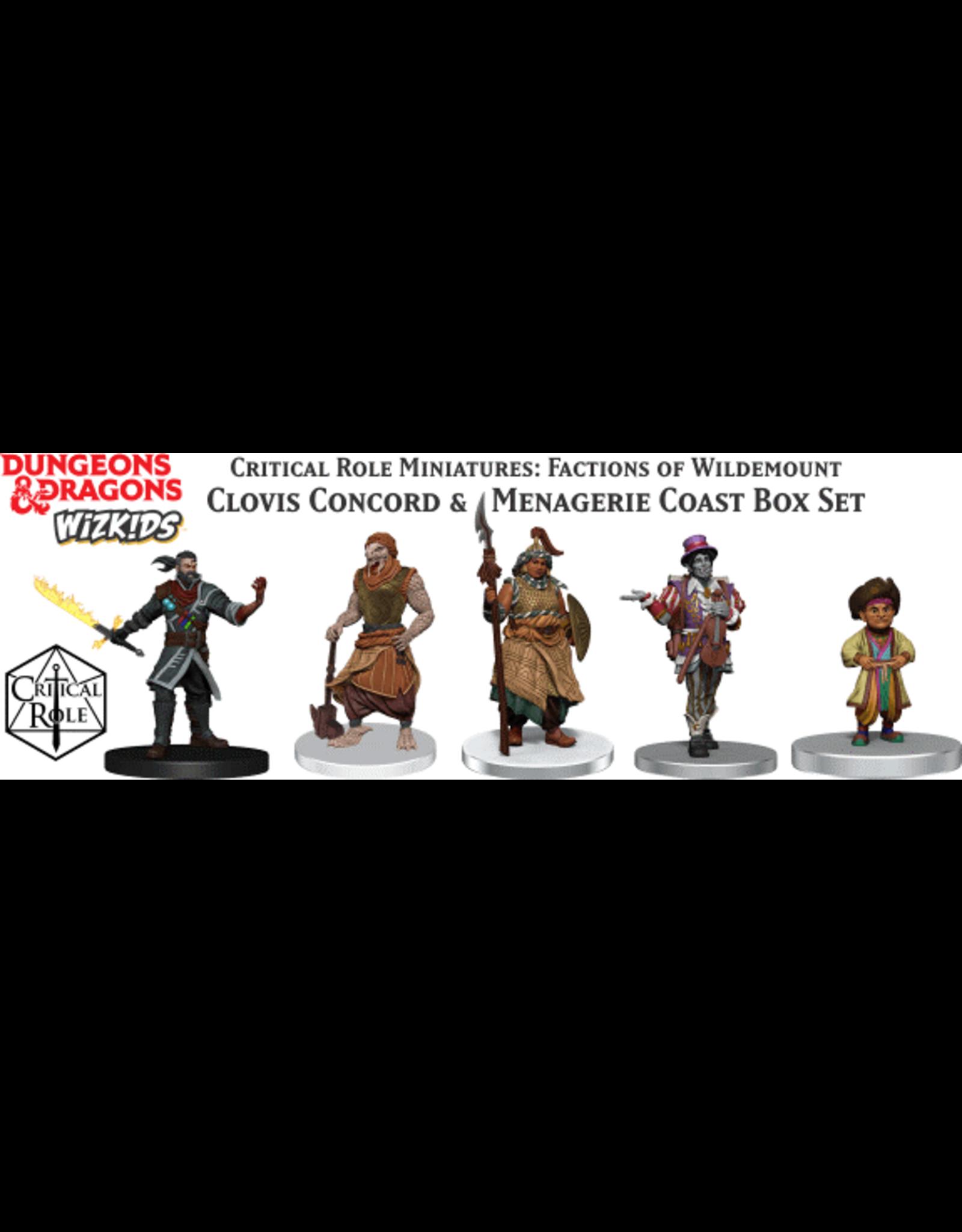 WizKids Dungeons & Dragons Critical Role Miniatures Factions of Wildemount Clovis