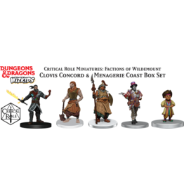 WizKids Dungeons & Dragons Critical Role Miniatures Factions of Wildemount Clovis