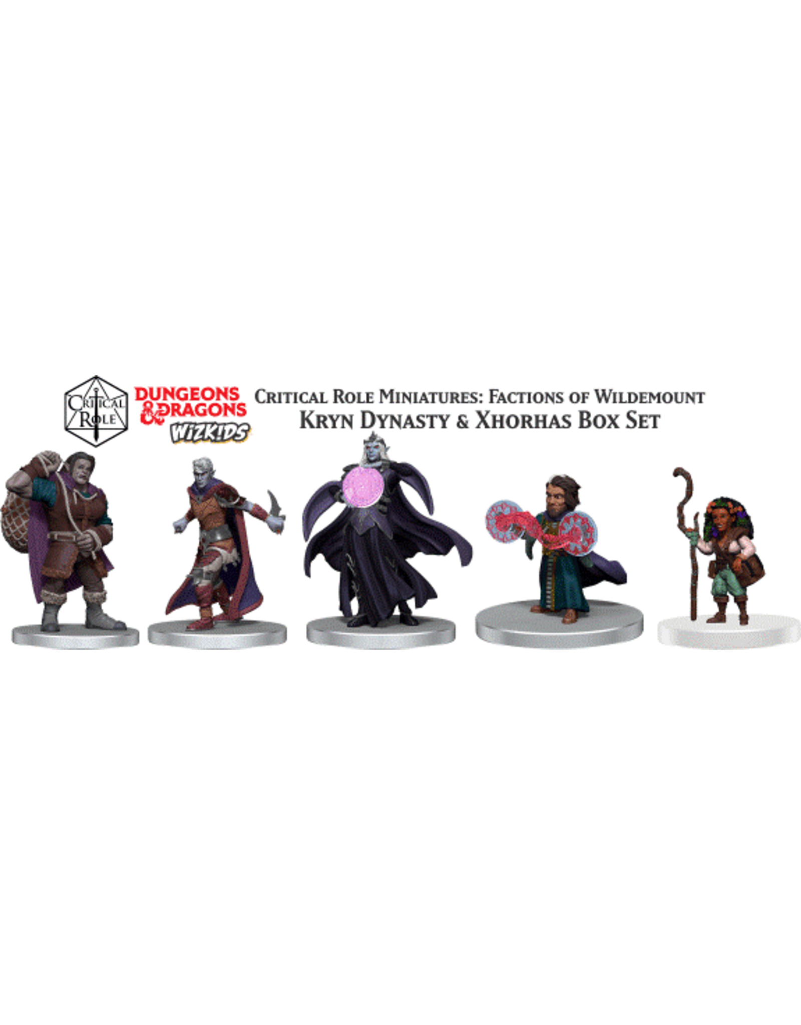 WizKids Dungeons & Dragons Critical Role Miniatures Factions of Wildemount Kryn Dynasty