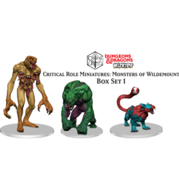 WizKids Dungeons & Dragons Critical Role Miniatures Monsters of Wildemount Set 1