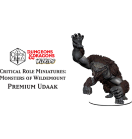 WizKids Dungeons & Dragons Critical Role Miniatures Monsters of Wildemount Premium Udaak