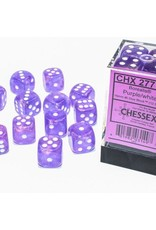 Chessex d6 Cube 12mm Borealis Luminary PUwh (36)