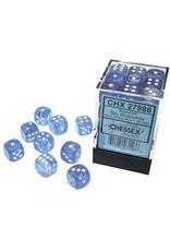 Chessex d6 Cube 12mm Borealis Luminary SBUwh (36)